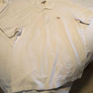 Burberry Brit White Polo, size L